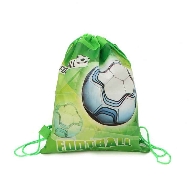 3259dae3409a Football Storage Bag Non-woven Fabric Drawstring Bag Outdoor Sport Gym  Backpack