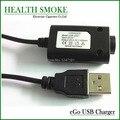 50 pcs ego USB line Charger for eGo-T, eGo-C, eGo-W  E-Cigarette Battery 510 ego e-cigs hot selling free shipping
