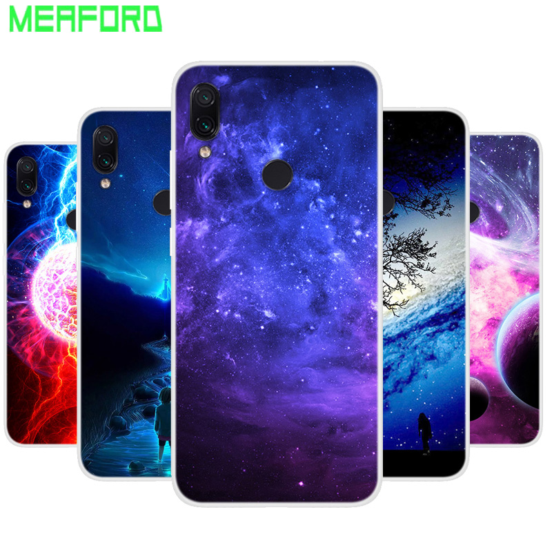 Silicone Case For Coque <font><b>Xiaomi</b></font> <font><b>Redmi</b></font> <font><b>7</b></font> 8 Soft Art Print Back Cover For <font><b>Xiaomi</b></font> <font><b>Redmi</b></font> <font><b>7</b></font> <font><b>Note</b></font> 8T 8 <font><b>Pro</b></font> Clear TPU bumper Phone Case image