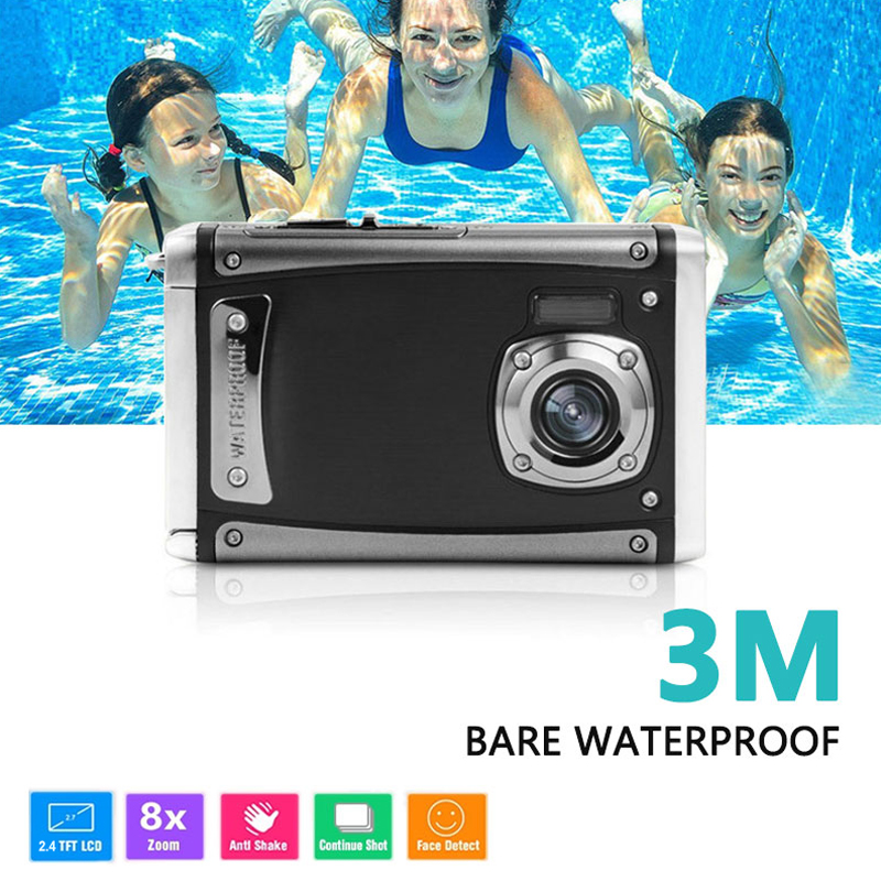 Gizcam Precise Outdoor Waterproof Camera Portable HD Camera 16MP Pixel CMOS 2.4