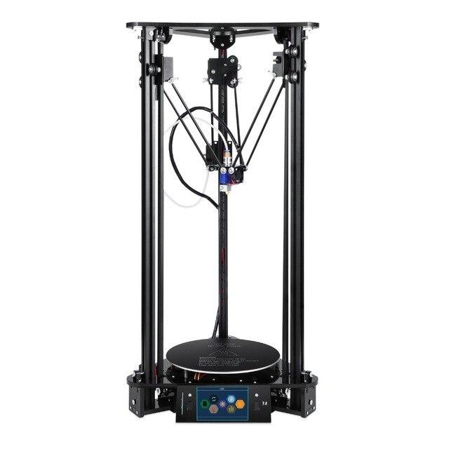 Option Laser Engraver3D Printer Large Printing Size Aluminum Acrylic Frame Circular Platform Patented Desktop Diy Kit 3d Printer 2