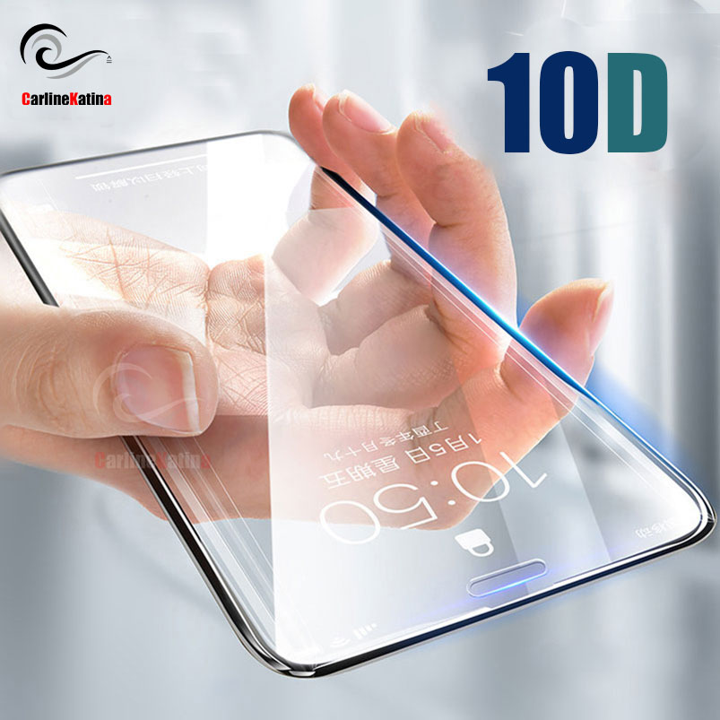 10D Top Tempered Glass Screen Protector Full Cover for iphone Xs