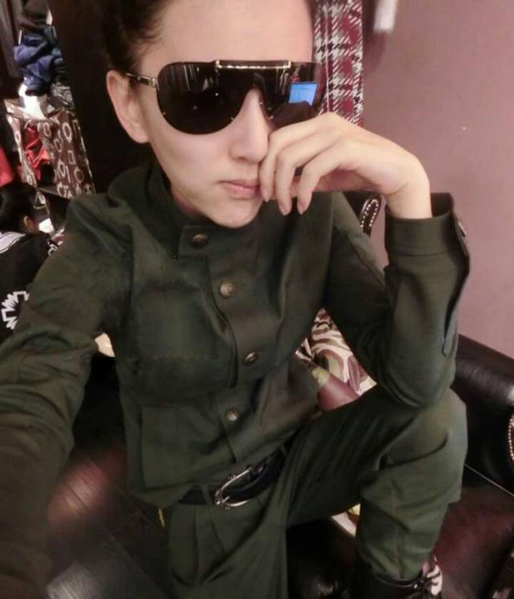 2017 Women Spring Autumn Camouflage Suits Casual Army Green Plus Size Jogger Pants Slim Fit Female 2 piece set women
