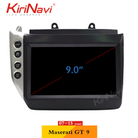 KiriNavi 6 core PX6 4+64G 9.0 Android 9.0 Car navigation gps for Maserati GT 9 2007 2015 WIFI bluetooth Music player car radio