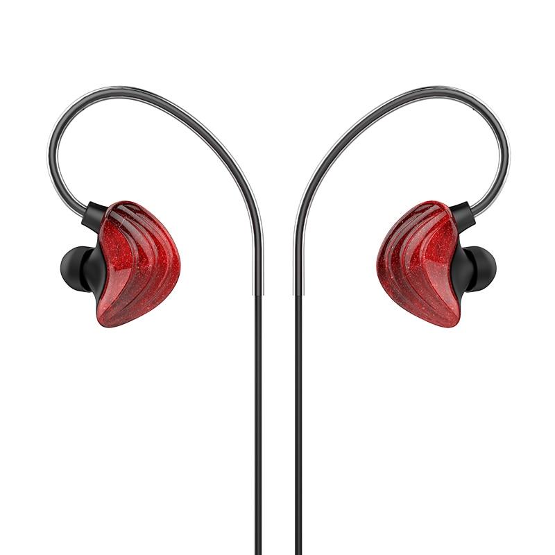 Goddess UiiSii CM5 web celebrity host live karaoke couples in-ear earphone Heavy subwoofer hanging ear type