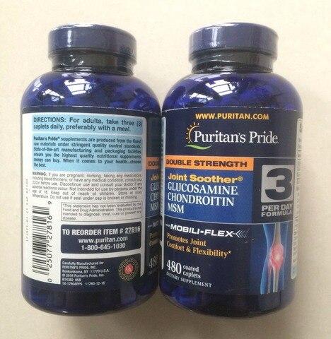origem americana dupla forca glucosamina chondrotitn msm