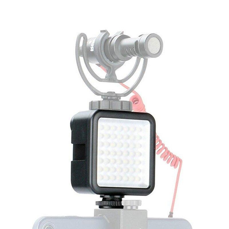 Ulanzi Einstellbar Tragbare Mini 49 LEDs Kamera Video Licht Dimmbare Led Fotografia Beleuchtung für Nikon Canon Sony Pentax DSLR