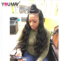 180% Lace Front Wigs Brazilian Virgin Virgin Pre Plucked 360 Lace Frontal Wigs With Baby Hair Body Wave Full Lace Human Hair Wig