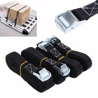 High Quality 4pcs Heavy Duty Tie Down Strap Cargo Lashing Strong Ratchet Belt With Metal Buckle