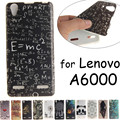 Lenovo a6000 flor búho chica de silicona tpu cubierta de la caja animal de la historieta contraportada lenovo a6010 plus lemon k3 k30w k30-w casos coque