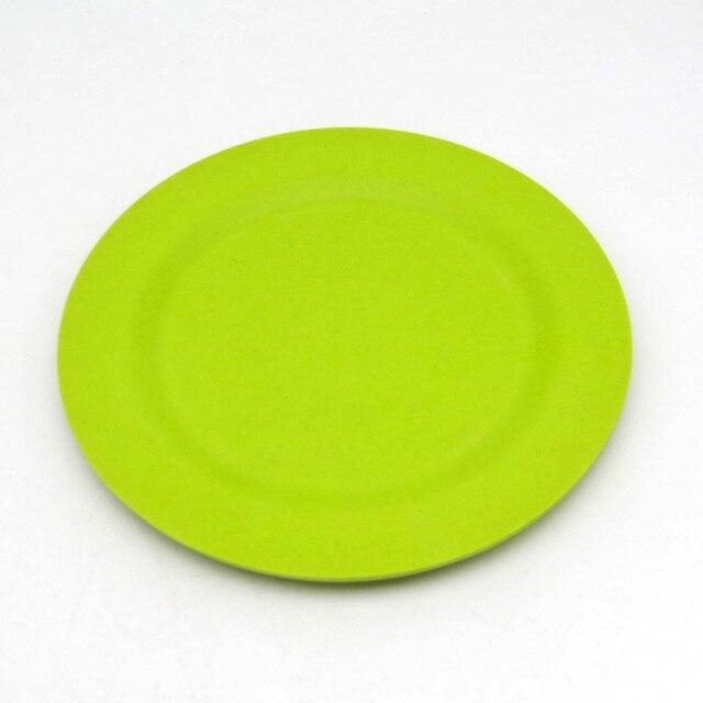 1 stück 25 cm Umwelt China geschirr küche tablett kuchen teller ...