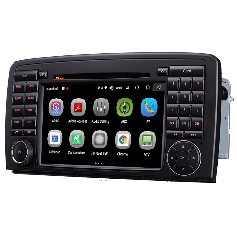 Android 2 Din 7inch DVD Car Audio Navigation System For Benz R W251 R280 R300 R320 R350 R500 With Standard Car Multimedia Player