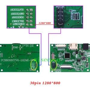 Image 5 - Sterownik Lcd EDP płyta 30pin uniwersalna obsługa 1280*800 1920*1200 1920*1080 1600*900 1366*768 wyświetlacz dla Raspberry Pi