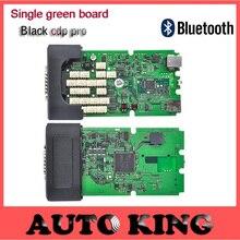 Super jakość 2015.1 najnowsze oprogramowanie pojedyncze zielone planszowe TCS pro oraz z Bluetooth TCS Pro dla samochodów ciężarowych czarna Obudowa pokrywa