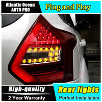 JGRT LED Taillights For Ford Focus 2012 2014 Led Fog Lamps For Focus Accessories Rear Lights