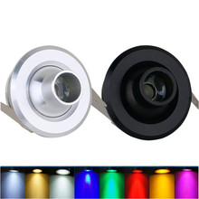 Мини-прожектор LED 3 Вт под шкаф светильник с питанием для витрины кухонный шкаф бытовой светильник ing вращение на 360 градусов
