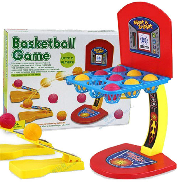 New Colorful Marbles Shooting Game Basketball Toys Board