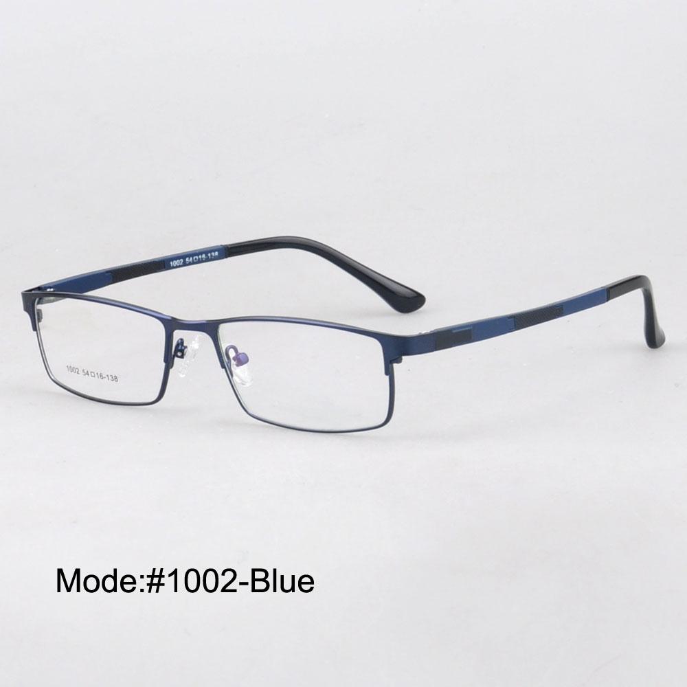 Magie Jing métal optique cadres avec temple ultem jante pleine lunettes de  prescription myopie lunettes pour hommes MX1002 d4cfa47105e6