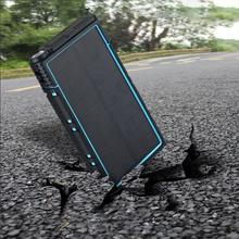 1.5W Solar Panel Power Bank 20000mah Multi-function built in