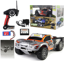 WL Spielzeug Full Proportional 2,4G Fernbedienung Auto 4WD Offroad Vehice RC Auto High Speed ​​45 KM / H Drift Bajas