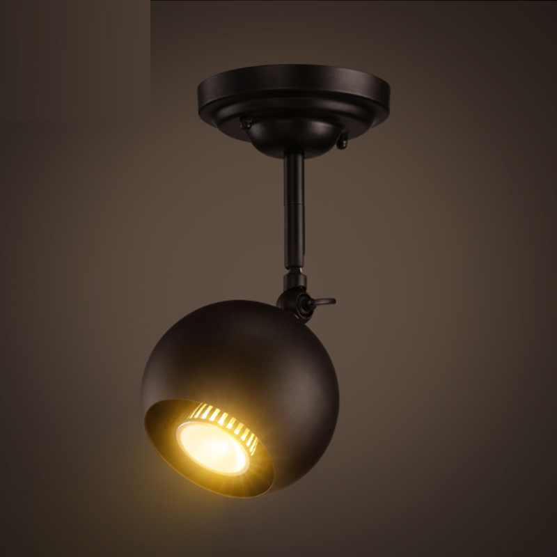 Aspiring Regron Minimalism Ceiling Lights Modern Creative Led Iron Black Led Track Ceiling Luminary Novelty Lamp For Bar Exhibition Cafe Ceiling Lights
