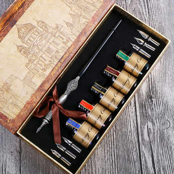 Hot Sale English Calligraphy Fountain Vintage Pen - DISCOUNT ITEM  0% OFF All Category