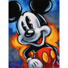 100% full 5D Diy diamond painting Mickey Mouse 3D diamond painting round rhinestone diamond painting YY(China)