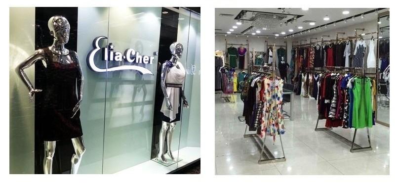 Women Chiffon Dress 17 Summer Dress Eliacher Brand Plus Size Chic sexy Sleeveless Evening Party Halter Shift Blue Dresses 11
