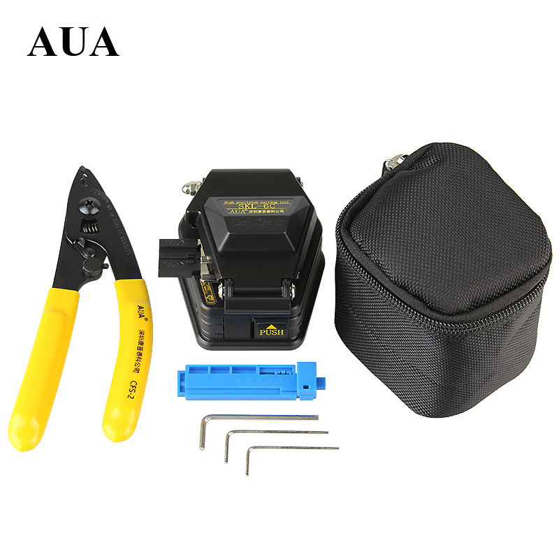 Free shipping Fiber Optic Tool 3 in 1 FTTH Splice fiber optic tool kits  Fibre stripping +SKL-6C fiber cleaverFree shipping Fiber Optic Tool 3 in 1 FTTH Splice fiber optic tool kits  Fibre stripping +SKL-6C fiber cleaver