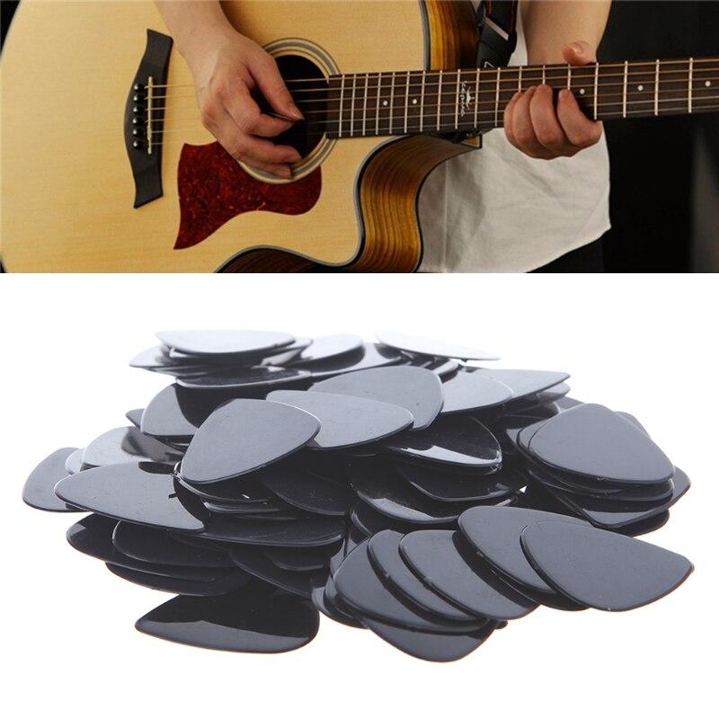 Лот 100 шт. акустическая электрическая гитара выбирает 0,71 мм струны музыкальный инструмент