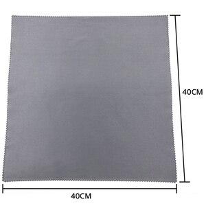 Image 2 - Nettoyeur de lunettes en microfibre, 3/5/7/pièce, 30x30cm, chiffon pour lentilles, appareil photo, outils de nettoyage ménager, chiffons