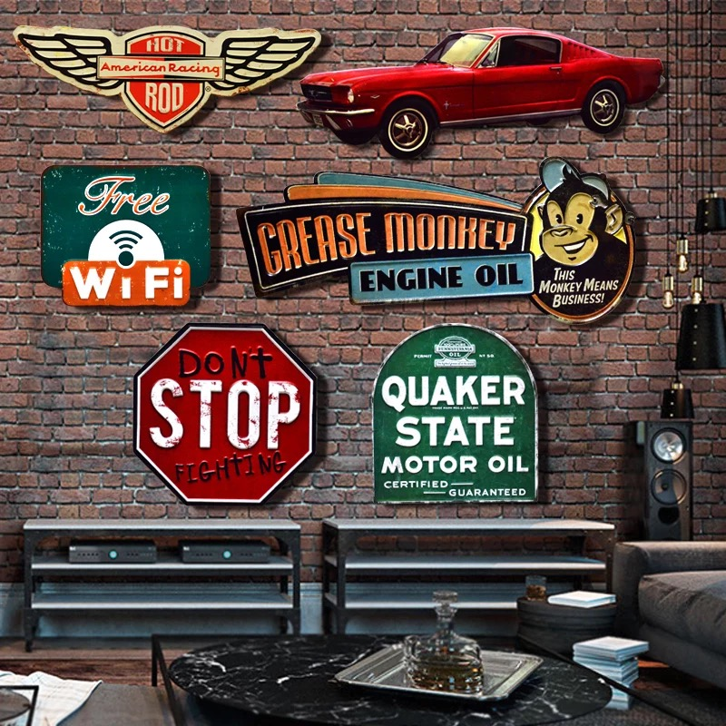 Vintage restaurant signs reviews online shopping