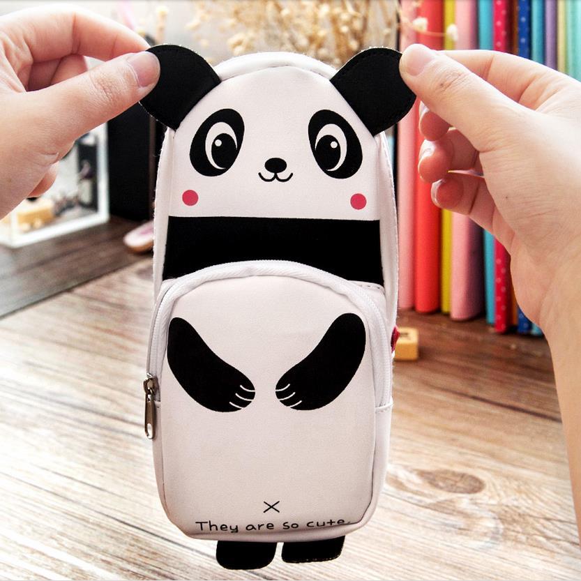 1pcs Newest Fashion Design Cute Panda Pencil Bags Students