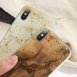 KISSCASE Case For iPhone X Case iPhone 7 8 6 6S Plus Marble Gold Foil Glue Soft Silicone Cover For iPhone 5S 5 SE 7 8 6 6S Coque 2
