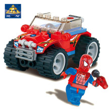 Kazi Superman Fire Bird Spiderman Storm Star Wars Hero Anime Cartoon Figure Model Building Toys For Children With Original Box