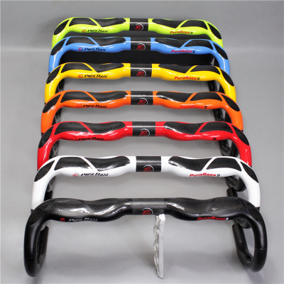 EC90 Bike Carbon Road Handlebar Bicycle Bent Bar 31 8mm Racing Handlebars 400 420 440 Seven