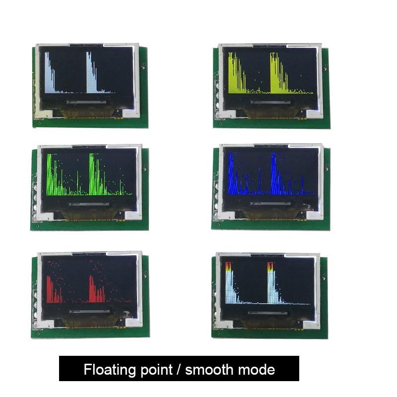 Mini 0.96 Inch IPS color screen multi mode Spectrum Display Analyzer 3.3-5.5V