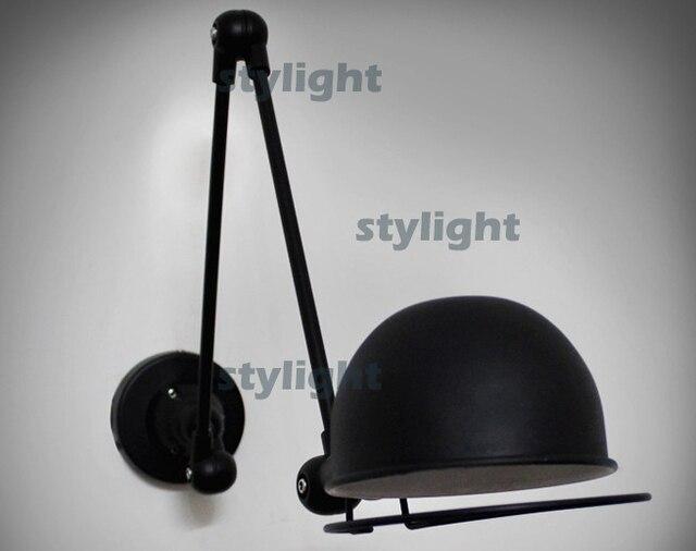 Loft braccio meccanico studio lampada da parete applique da parete