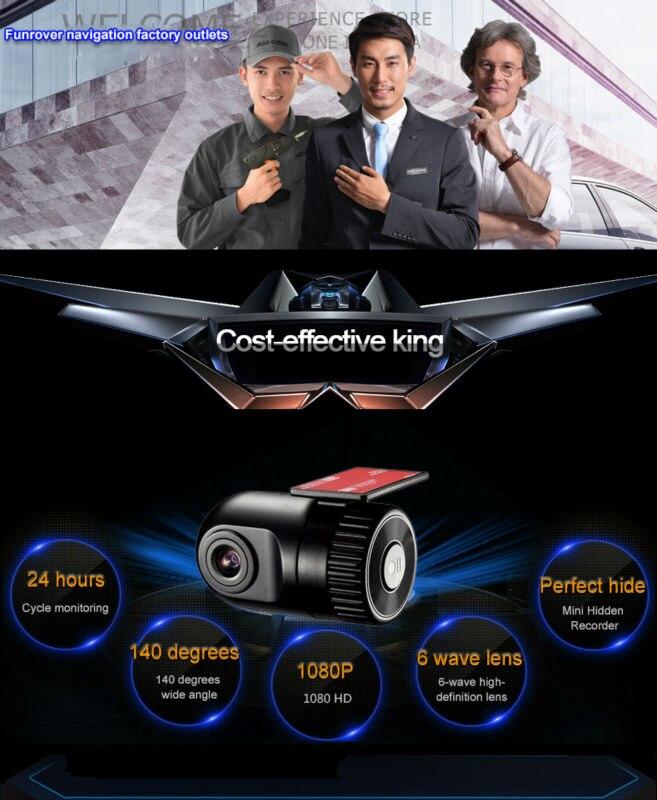 Original Podofo  Mini Car DVR Camera Dashcam Full HD 1080P Video Registrator Recorder G-sensor Night Vision Dash Cam Blackbox3