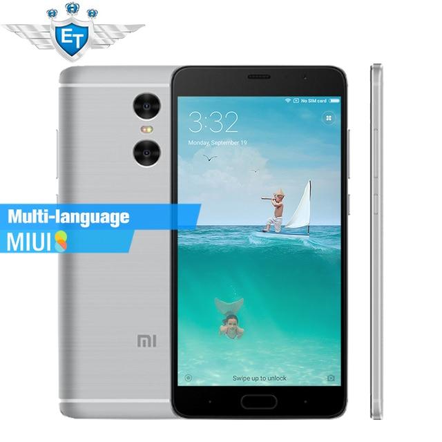 """Оригинальный Xiaomi Redmi Pro премьер-5.5 """"oled смартфон МТК helio X25 Дека core 3 ГБ Оперативная память 64 ГБ Встроенная память отпечатков пальцев двойной сзади Камера LTE"""