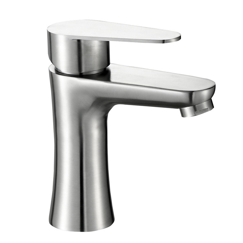 304 stainless steel basin hot and cold water faucet waist wash ...
