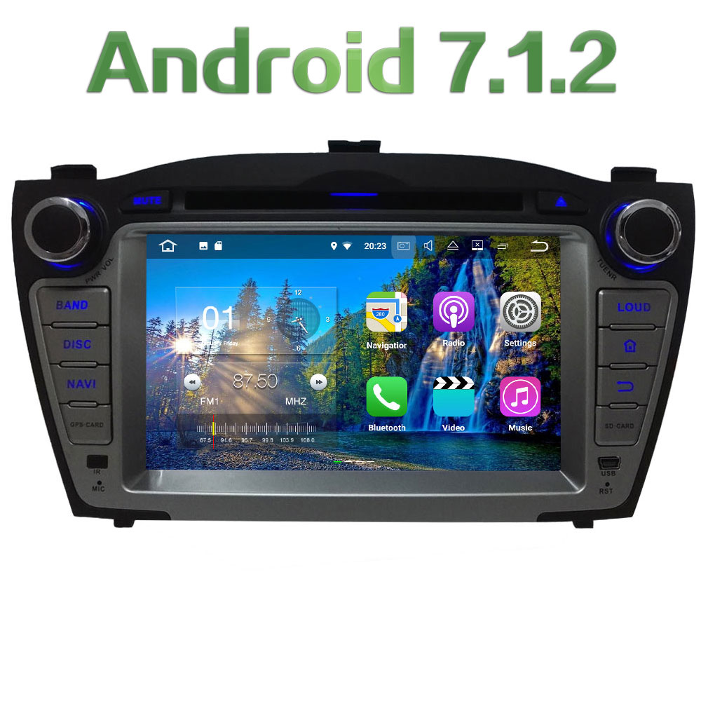 7 2GB RAM Quad Core Android 7 1 2 4G WiFi SWC BT Multi Car DVD