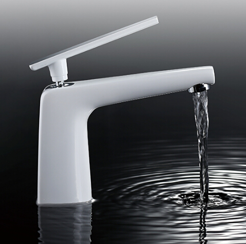 New Arrivals Top Quality White Brass Waterfall Faucet