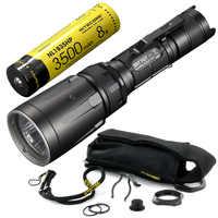 NITECORE 5 цветов RGB + UV Light SRT7GT + аккумуляторная батарея CREE XP L HI V3 1000LM смарт кольцо водонепроницаемый фонарик поисково спасательный фонарь
