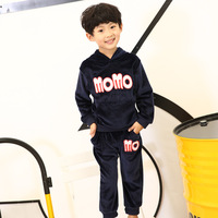 Toddler Baby Boy Girls Casual Clothes Set Fashion Letter StyleTracksuit Suits Tops+Pants 2pcs For Kid Clothing