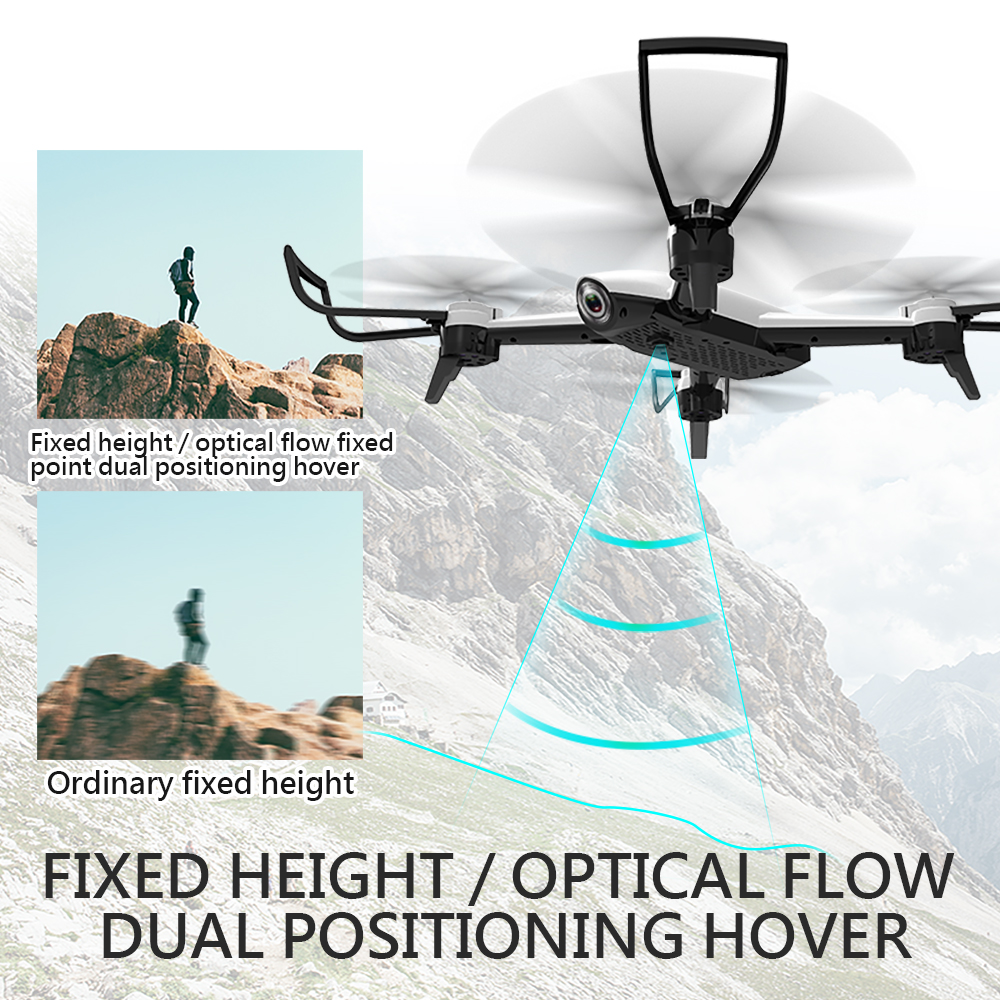 SG106 Drone with Dual Camera 1080P 720P 4K WiFi FPV Real Time Aerial Video Wide Angle Optical Flow RC Quadcopter Helicopter Toys