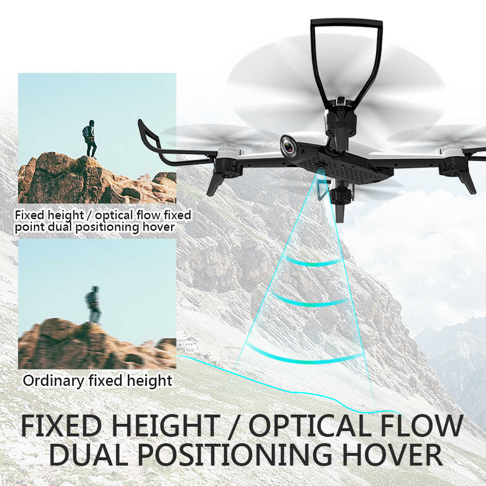 Дрон SG106 с двойной камерой 1080P 720P 4K WiFi в режиме реального времени аэрофотосъемка широкоугольный оптический поток RC Квадрокоптер вертолет игрушки