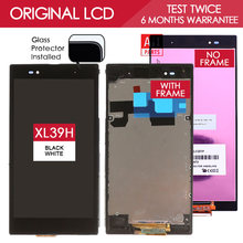 Original 6.44 inch 1920×1080 IPS Display For SONY Xperia Z Ultra LCD Touch Screen Digitizer with Frame XL39h XL39 C6833