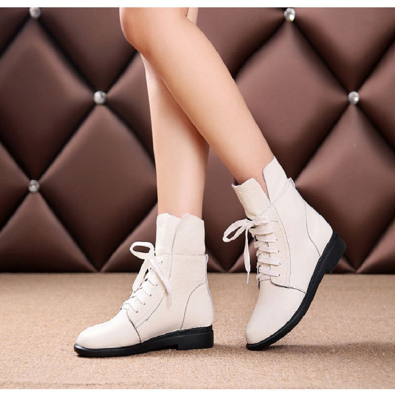 Фото 2018 spring and autumn new single-layer shoes casual shoes leather women