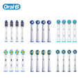 Braun Oral B Electric Toothbrush Head Deep Clean Replaceable Teeth brush Head for D12013/D16523 4 heads/pack EB30/17/18/20/25/50